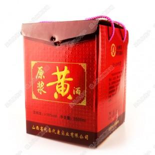 【代康黄酒】20年陈酿 原浆黄酒/2500ml装