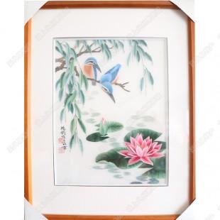纯手工刺绣工艺品中国特色礼品—花鸟系列