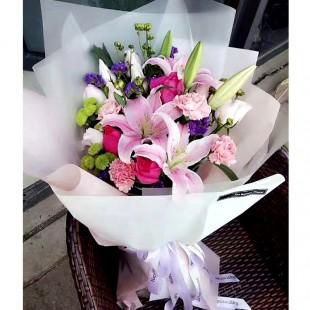 【大毛花艺】特惠!同城配送节日鲜花束可预定