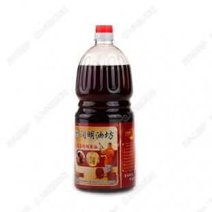 【润明饼业】新品:古法压榨胡麻油1.6L