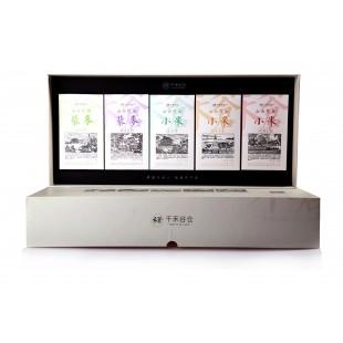 千禾谷仓三色藜麦+小米伴侣套盒 500gx5