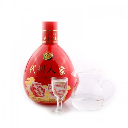 代州人家喜庆版42°白酒 500ml*2瓶